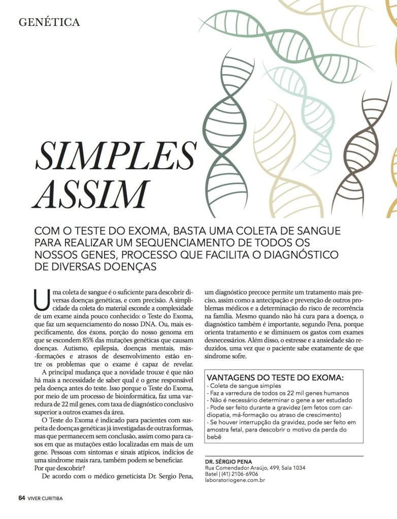 Revista VIVER - EXOMA